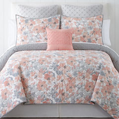 Home Expressions Emma Floral Quilt & Accessories