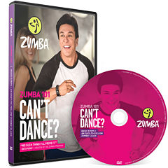 Zumba® 101 Can't Dance DVD