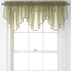 Green Valances For Window Jcpenney