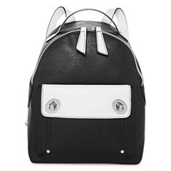 T-Shirt & Jeans Two Tone Polyurethane Coated Backpack