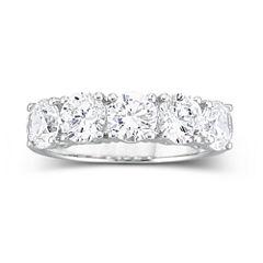 DiamonArt® 2 1/2 CT. T.W. Cubic Zirconia Wedding Ring