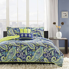 Intelligent Design Rachelle Coverlet Set