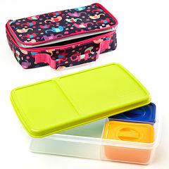 Fit & Fresh® Bento Elephant Circus 4-pc. Kids Lunch Kit