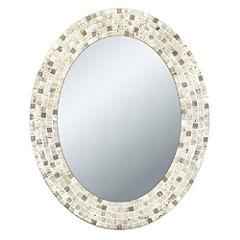 Travertine Mosaic Wall Mirror