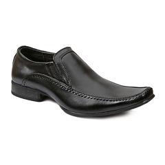 Giorgio Brutini® Downing Mens Leather Square-Toe Loafers