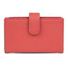 Mundi® Rio Leather Double Card Case Wallet