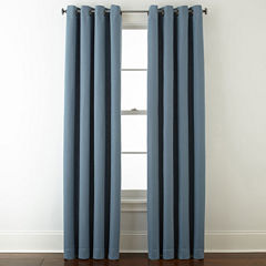 StudioTM Wallace Blackout Grommet Top Curtain Panel