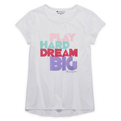 Champion Graphic T-Shirt-Big Kid Girls