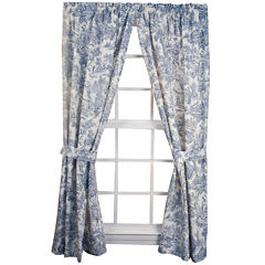 Victoria Park 2-Pack Rod-Pocket Curtain Panels