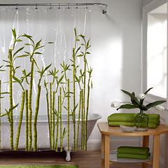 Maytex Bamboo PEVA Shower Curtain