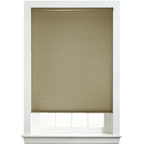 Custom Cordless ½ Light-Filtering Double Cellular Shade - FREE SWATCH