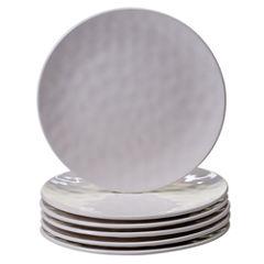 Certified International Cream 6-pc. Salad Plate