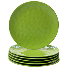 Certified International Green 6-pc. Dinner Plate
