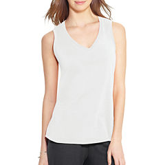 Champion® Jersey V-Neck Tank Top