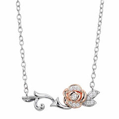 Enchanted Fine Jewelry  By Disney Enchanted By Disney Sterling Silver Gold Over Silver 18 Inch Chain Necklace