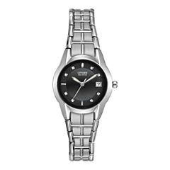 Citizen® Eco-Drive® Womens Stainless Steel Watch EW1410-50E