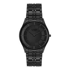 Citizen® Eco-Drive® Mens Black Ion Plating Watch AR3015-53E