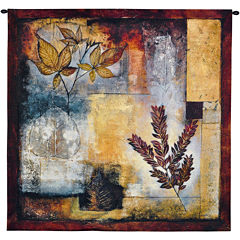 Organic Autumn Wall Tapestry
