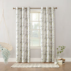 Sun Zero™ Easton Thermal Lined Grommet-Top Curtain Panel