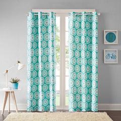 Vaila Grommet-Top Curtain Panel