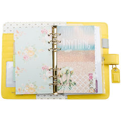 Webster's Pages 2015-2016 Monthly Yellow Personal Planner Kit