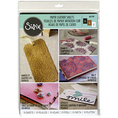 Sizzix 10-pc. Leather Paper Sheets