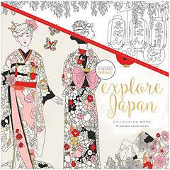 Kaisercraft Explore Japan Coloring Book