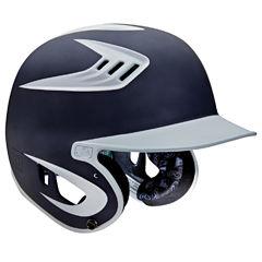 Rawlings 80mph Two-Tone Digi Black Baseball Helmet
