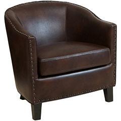 Austin Bonded Leather Club Chair