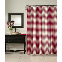 Classic Check Shower Curtain