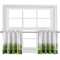 Ivy League Rod-Pocket Window Tiers