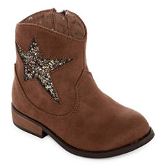Okie Dokie Moselle Girls Cowboy Boots - Toddler