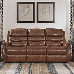 Signature Design by Ashley® Metcalf Power Reclining Sofa