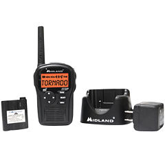 Midland HH54VP2 Portable Weather Alert Radio with Charger and Battery Pack