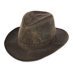 Indiana Jones™  Weathered Cotton-Blend Fedora Hat