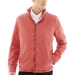 Dockers® Stand-Collar Zip-Front Jacket