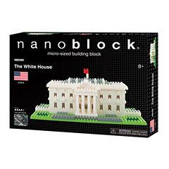 Ohio Art nanoblock® Sites to See Level 4 - The White House: 890 Pcs