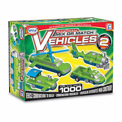 Popular Playthings Magnetic Mix or Match Vehicles:Set #2