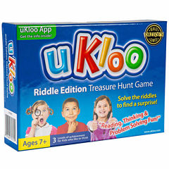 uKloo Kids Inc. uKloo Riddle Edition Treasure HuntGame