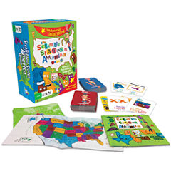 Gamewright Scrambled States of America Game Deluxe10th Anniversary Edition