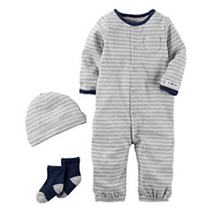 Carter's Little Baby Basics Boy 3-Piece Layette Set