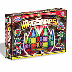 Popular Playthings MagSnaps 48 Piece Set