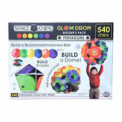 Monkey Business Sports Space Chips - Glom Dron Builder's Pack: 540 Pcs