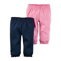 Carter's® 2-pk. Navy Pants - Baby Girls newborn-24m