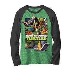 Teenage Mutant Ninja Turtles Long-Sleeve Novelty Raglan Shirt - Boys 8-20