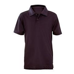 U.S. Polo Assn.® Short-Sleeve Performance Polo - Preschool Boys 4-7