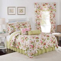 Waverly® Emma's Garden Reversible Qulit Set & Accessories