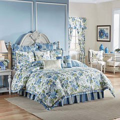 Waverly® Floral Engagement Reversible 4-pc. Comforter Set & Accessories