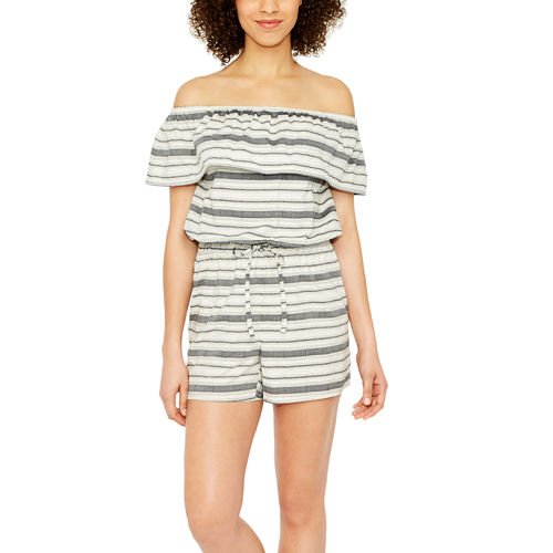 a.n.a Off The Shoulder Romper