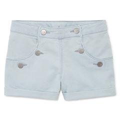 Total Girl Pull-On Shorts Big Kid Girls Plus